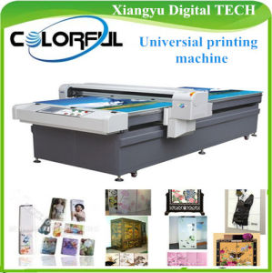 Digital Flatbed Large Format Eco Solvent Inkjet Printer Machinery (Colorful 1225A)