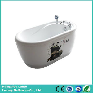 Acrylic Freestanding Bathtub with Printed Panda (LT-1E) pictures & photos