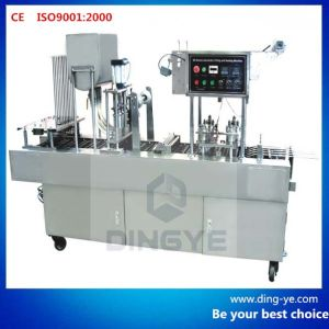 Automatic Cup Filling and Sealing Machine (BG60P/32P) pictures & photos