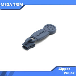 Gray Zipper Slider with PVC Injection Puller pictures & photos