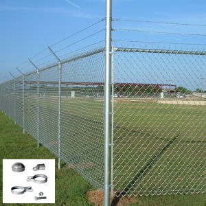 Us Chain Link Mesh Fence for Home Garden Depot pictures & photos