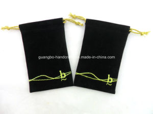 Custom Embroidery Printing Drawstring Pouches pictures & photos