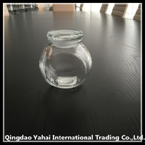 200ml Glass Jar for Spice with Glass Lid / Glass Faceted Jar pictures & photos