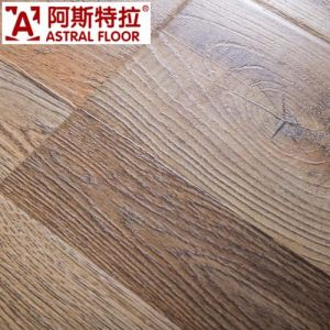 Hot Sale HDF Waxing12mm Wooden Floor pictures & photos