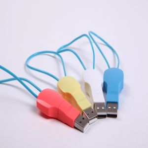 Key Chain Retro Style USB Charger Cable (LCCB-010) pictures & photos