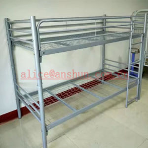 Jas-086 Metal Furniture Adult Heavy Duty Wrought Iron Steel Metal Bunk Bed pictures & photos