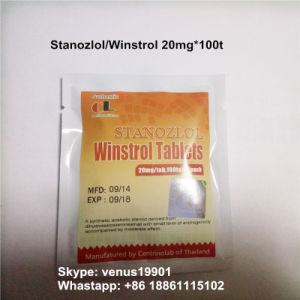 Oral Anabolic Steroids Winstrol Tablets for Male Strength pictures & photos