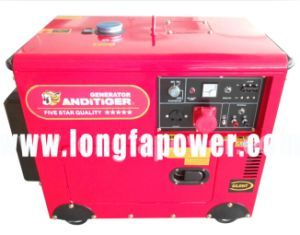 Buckcasa 7kVA 3 Phase Super Silent Diesel Generator Set pictures & photos