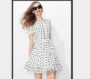 2015 Plus Size Europen Style Casual Women Dress pictures & photos