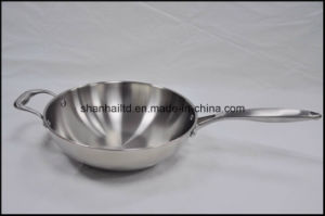 5 Ply Copper Core Induction Wok pictures & photos