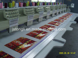 6 Heads 9 Needle Computerized Embroidery Machine (TL-906) pictures & photos