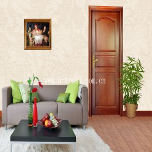 Soft Surface Super Matt Wood PVC Laminate Foil/Film for Furniture/Cabinet/Closet/Door Htd027 pictures & photos