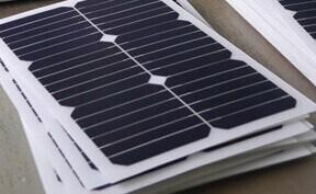 20W Semi-Flexible Sunpower Solar Panel pictures & photos