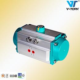 Wuxi Aluminium Alloy Rotary Type Valve Pneumatic Actuator pictures & photos