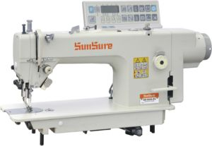 Direct-Drive Computerized Heavy Duty Compound Feed Sewing Machine pictures & photos