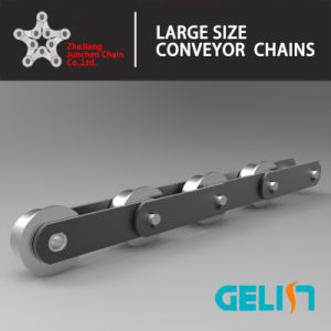 Big Rollers Type Coal Handling Plant Steel Conveyor Chain for Apron Feeder pictures & photos