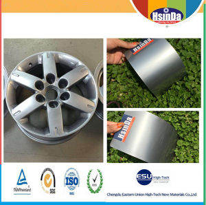 Wholesale Hsinda Metallic Silver Topcoat Glimmer Polyester Powder Coating pictures & photos