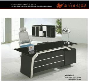 Modern Glass Office Desk