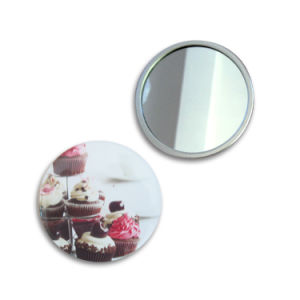 Metal Pocket Cosmetic Mirror pictures & photos