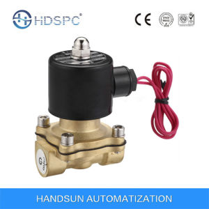 2W Series Brass Electromagnetic Air Solenoid Valve pictures & photos