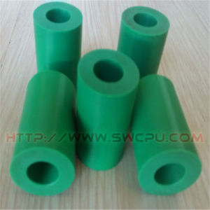 CNC Custom Plastic Slotted Colorful Delrin Bushings with Round Spacer pictures & photos