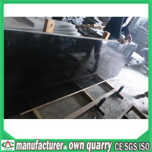 Best Quality Absolute Black Granite for Tiles and Slab pictures & photos