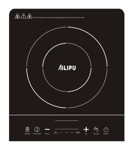 Hot Selling Touch Control Induction Cooker with Ailipu Brand pictures & photos