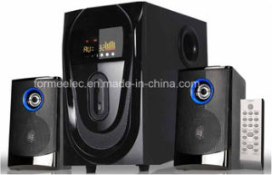 2.1CH Wood Multimedia Speaker with USB SD S2910 Subwoofer pictures & photos