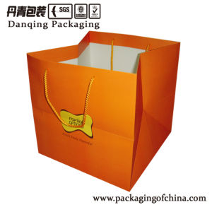 Gife Bag with String Paper Bag Paper Bag with Rope/Handle pictures & photos
