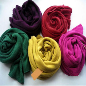 Fashion Winter Scarf Simple Design Solid Color Shawl Hijab Scarf pictures & photos