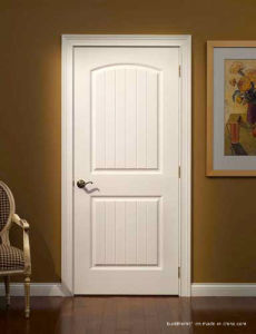 Sophisticated French Style White Paint Wooden Interior Doors pictures & photos