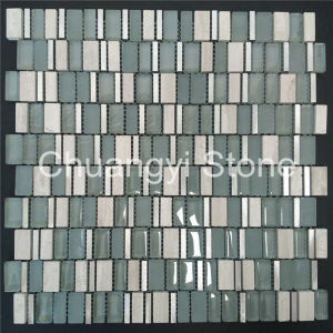 Glass Mosaic Tile for Home Decoration (Size: 12′*12′)