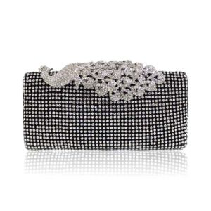 Italy Rhinestone Clutch Bag Elegant Bag Fashion Evening Bag (XW0918) pictures & photos