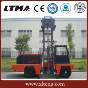 2017 Customized Color 3 Ton Side Loader Forklift for Sale pictures & photos