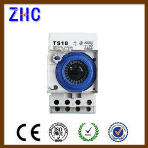 Manual Timer Mechanical Time Switch Ts18 24 Hour Timer Switch pictures & photos