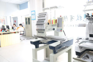 Single Head Computerized Embroidery Machine Price Matsushita Electric Motor pictures & photos