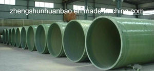 FRP/GRP/Fiberglass/Composite/Epoxy Resin/Polyester Water Pipe for Water Treatment/Water Supply