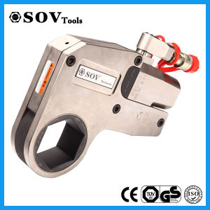 China Supplier Steel Hollow Pluner Hydraulic Torque Wrench pictures & photos