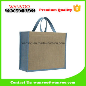 Hot Selling Eco Friendly Jute Tote Bag for Shopping pictures & photos