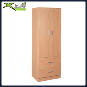 Mobile Open Wardrobe with Clothes Hanging Rail Storage Shelves Organiser pictures & photos