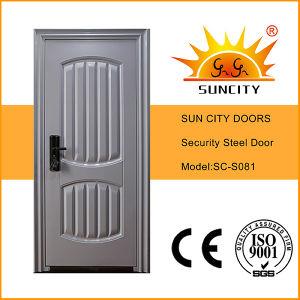 Popular Steel Security Iron Door with Power Coating Finish (SC-S081) pictures & photos