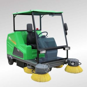Professional Design Electric Sweeper Road Sweeper Machine with Charger (DQS18A) pictures & photos