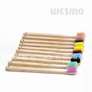 Eco-Friendly Bamboo Toothbrush (WBB0870A) pictures & photos