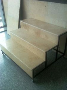 Professianl Granite Factory Cheap Granite Tile Stair Slab