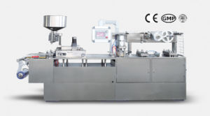 Dpb-250c Flat Plate Alu/PVC Blister Packing Machine pictures & photos