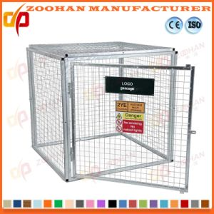 Lockable Steel Security Gas Bottle Wire Mesh Storage Cage (Zhra10) pictures & photos