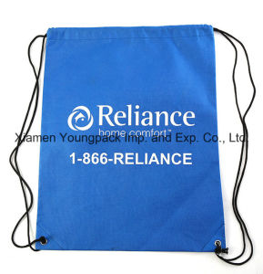 Wholesale Bulk Custom Promotional Waterproof 210d Polyester Drawstring Bags pictures & photos