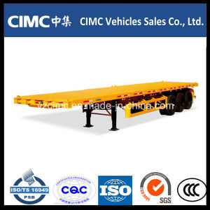 Cimc Container Trailer, Flatbed Semi Trailer pictures & photos