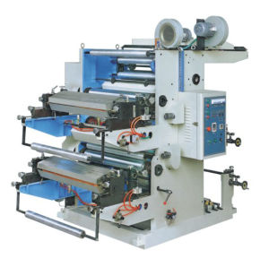2 Coloured Plastic Flex Printing Machine pictures & photos