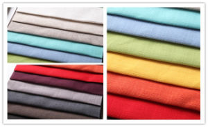 Linen Cotton Sofa Fabric (BS6024) pictures & photos